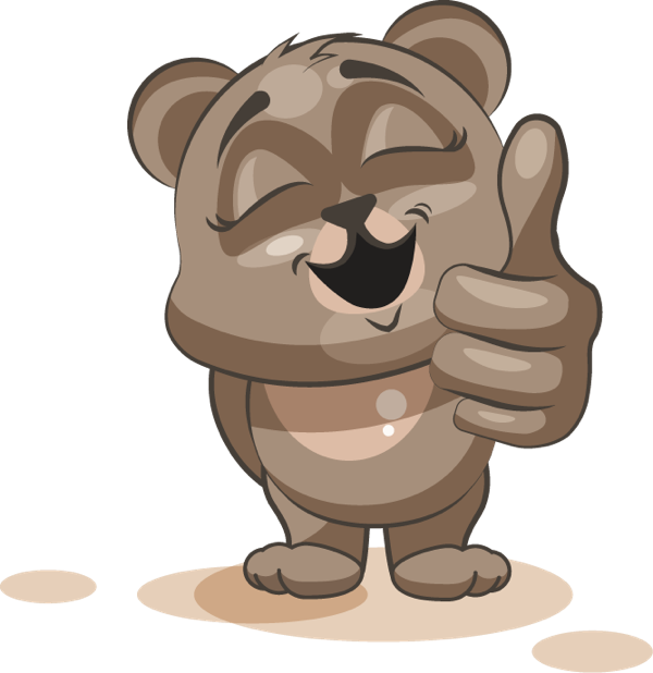 Bear - Stickers for iMessage messages sticker-0