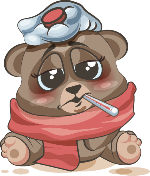 Bear - Stickers for iMessage messages sticker-1