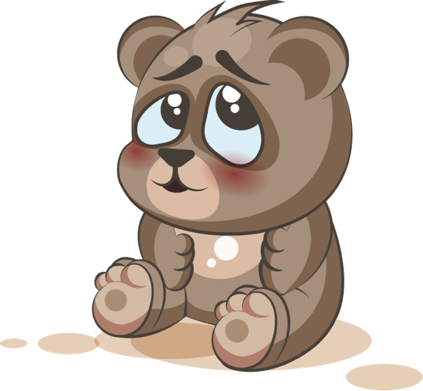 Bear - Stickers for iMessage messages sticker-6