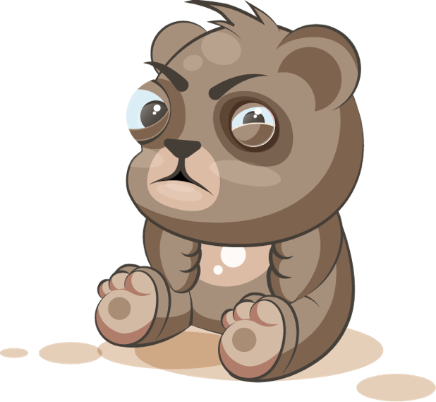 Bear - Stickers for iMessage messages sticker-8