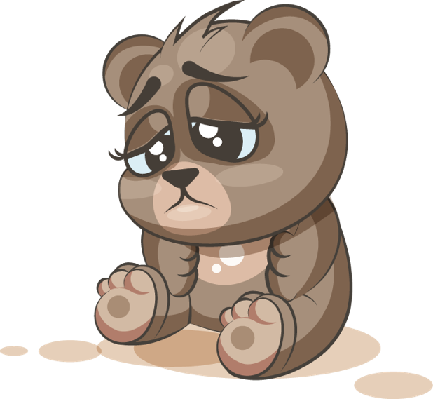 Bear - Stickers for iMessage messages sticker-11
