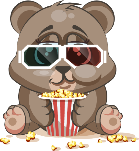 Bear - Stickers for iMessage messages sticker-9