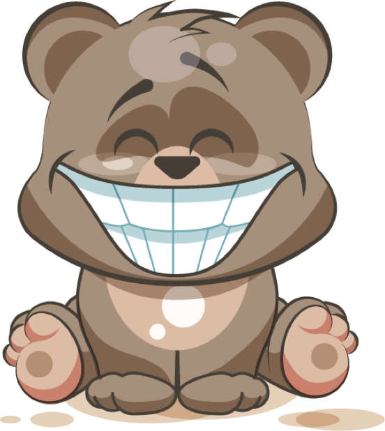 Bear - Stickers for iMessage messages sticker-4