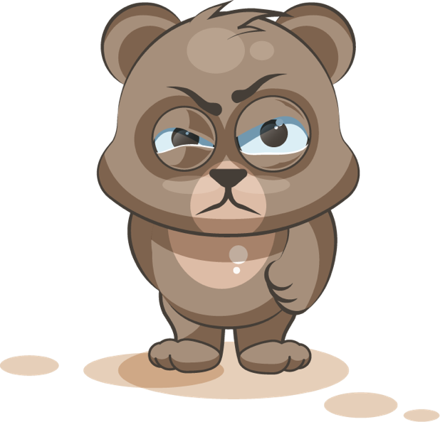 Bear - Stickers for iMessage messages sticker-7