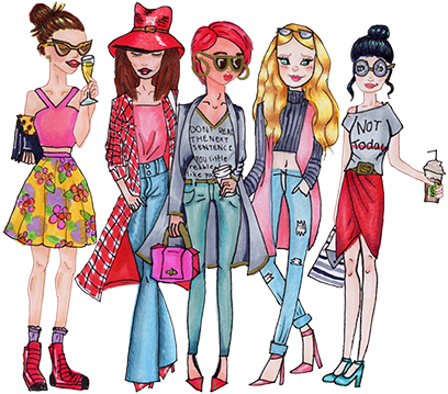Girl Time by Katie Bright messages sticker-1