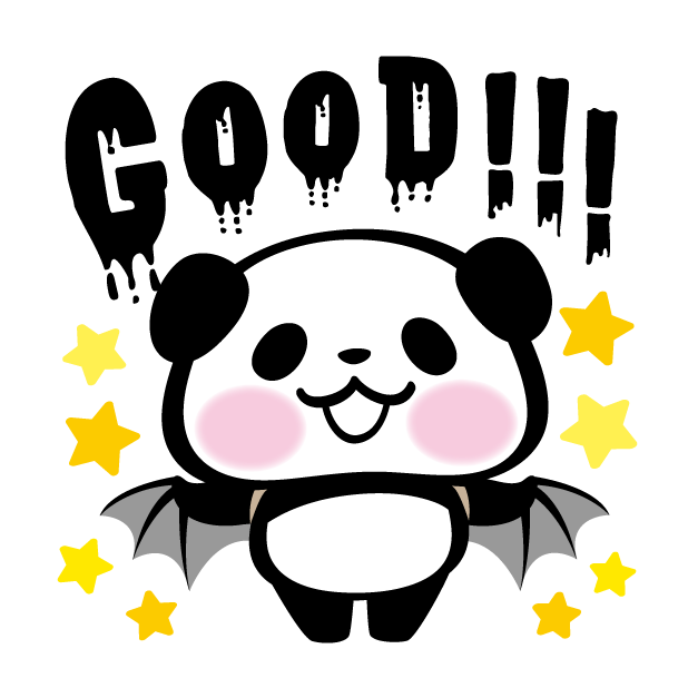 Pandaaa!!! Halloween Stickers messages sticker-5