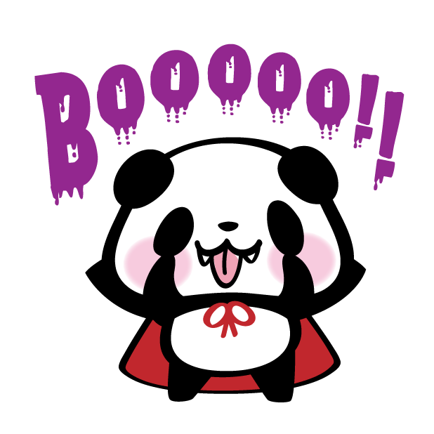 Pandaaa!!! Halloween Stickers messages sticker-8