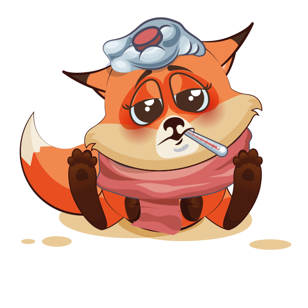 The Happiest Fox messages sticker-11