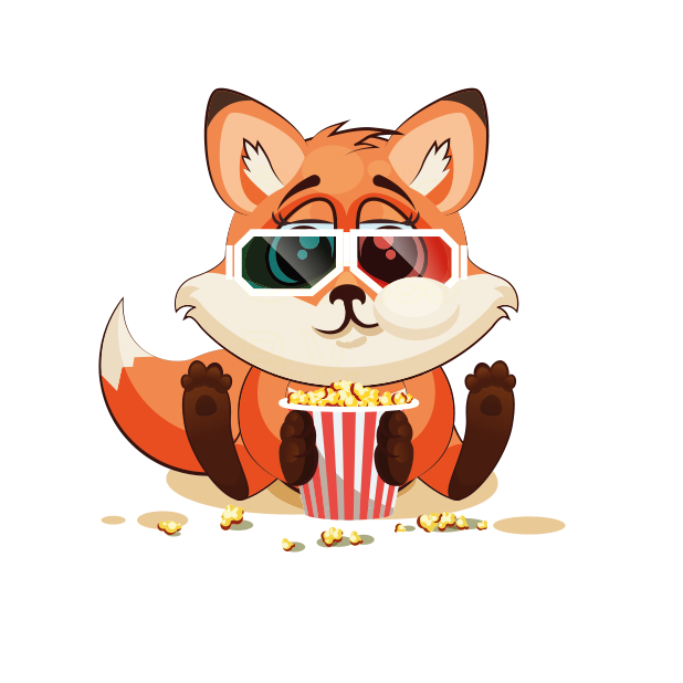 The Happiest Fox - Stickers for iMessage messages sticker-6