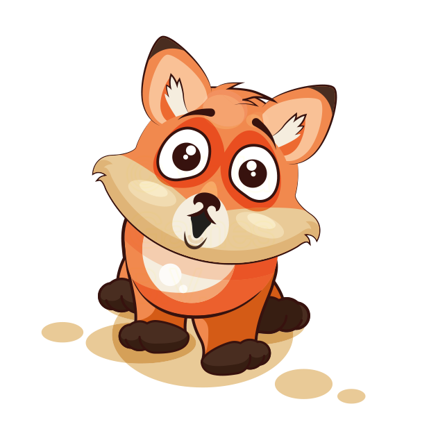 The Happiest Fox - Stickers for iMessage messages sticker-0