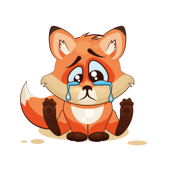 The Happiest Fox messages sticker-5