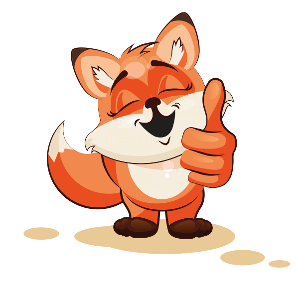 The Happiest Fox - Stickers for iMessage messages sticker-8