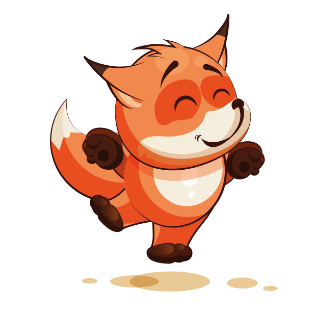 The Happiest Fox - Stickers for iMessage messages sticker-10