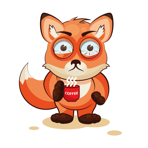 The Happiest Fox - Stickers for iMessage messages sticker-9