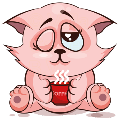 Fluffy The Cat - Purr! messages sticker-6