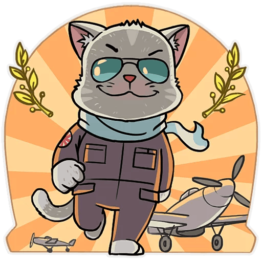 Pilot CatMoji Maker messages sticker-8