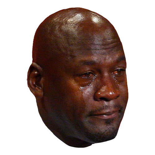 23 Tears - The Crying Jordan iMessage Sticker Pack messages sticker-7