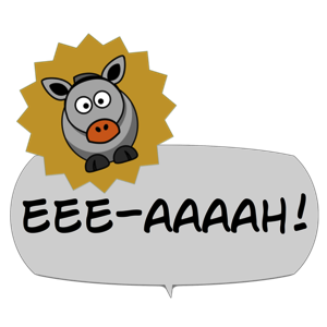 Gobble! Animal Noise Comic Bubbles messages sticker-8