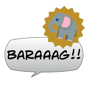 Gobble! Animal Noise Comic Bubbles messages sticker-2