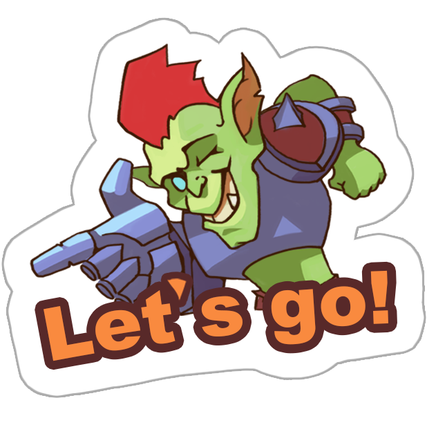 Goblin Defenders 2 Stickers messages sticker-6