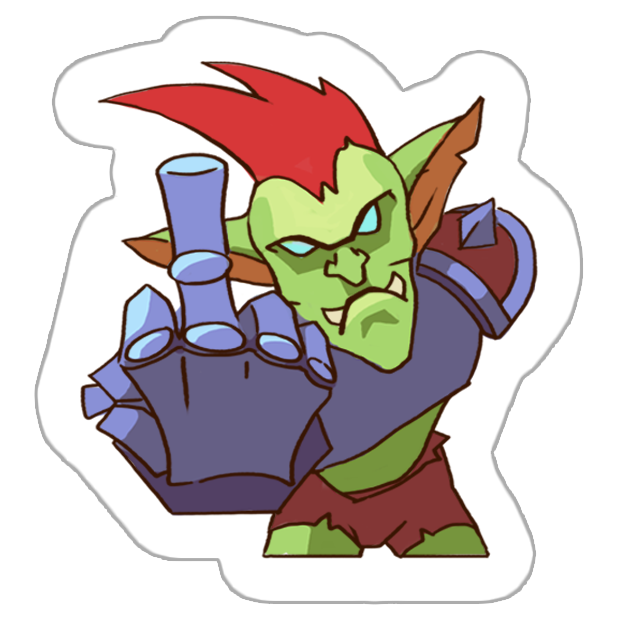Goblin Defenders 2 Stickers messages sticker-1