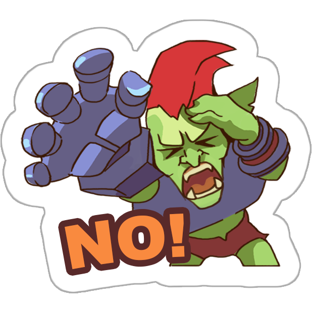 Goblin Defenders 2 Stickers messages sticker-7