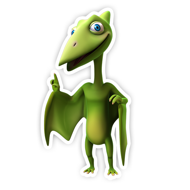 Dinosaur Train: Paint and Match messages sticker-11