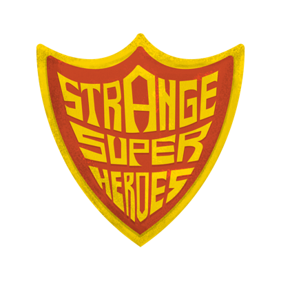 Strange Super Heroes Stickers messages sticker-11