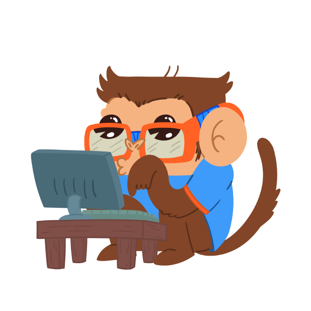 Monkeys Stickers messages sticker-5