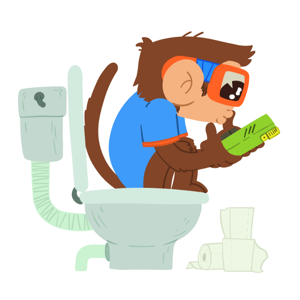 Monkeys Stickers messages sticker-8
