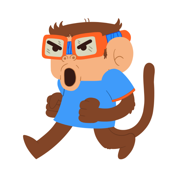 Monkeys Stickers messages sticker-9
