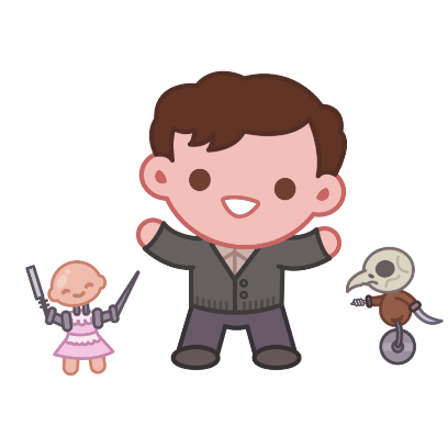 Miss Peregrine's Emoji messages sticker-4