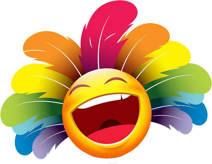 Carnival Smileys Stickers messages sticker-2