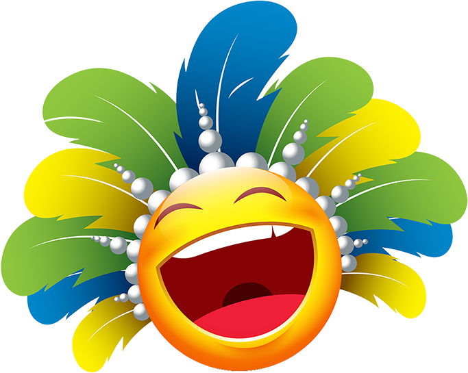 Carnival Smileys Stickers messages sticker-10