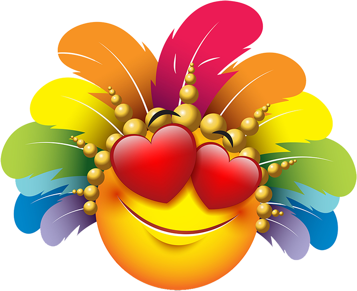 Carnival Smileys Stickers messages sticker-1