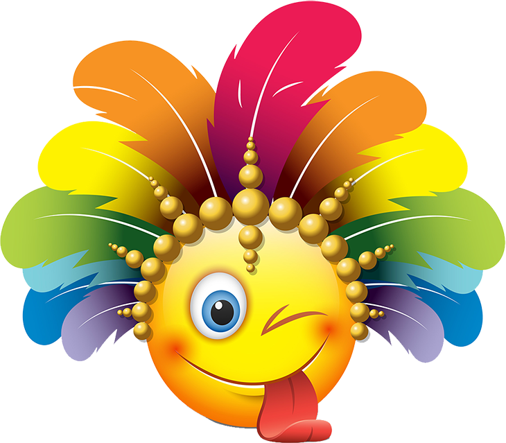 Carnival Smileys Stickers messages sticker-11