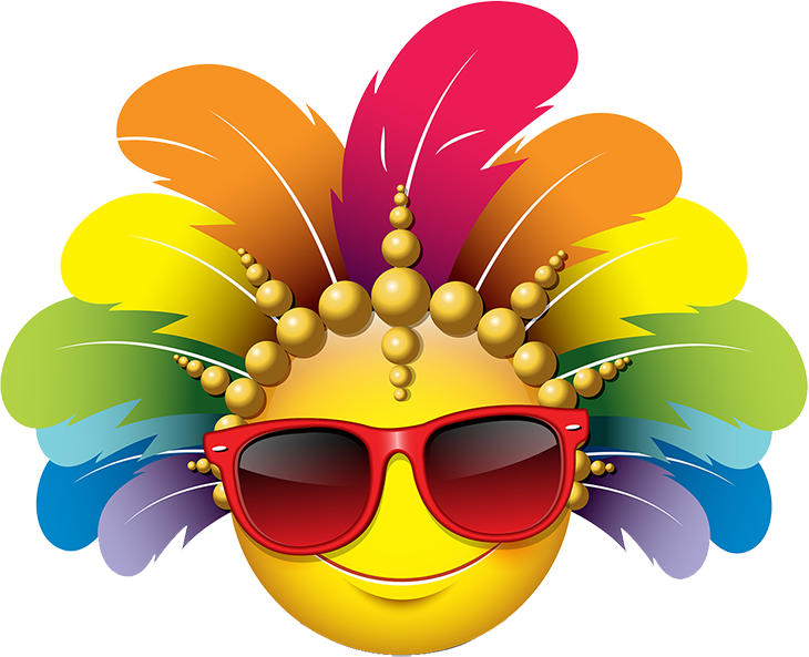 Carnival Smileys Stickers messages sticker-8