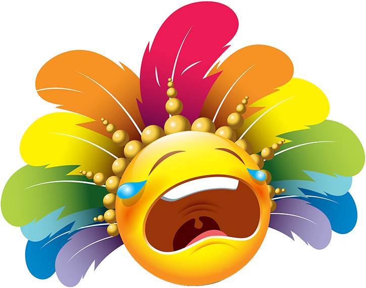 Carnival Smileys Stickers messages sticker-5