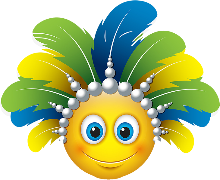 Carnival Smileys Stickers messages sticker-7