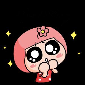 Hana's Cute Stickers messages sticker-8