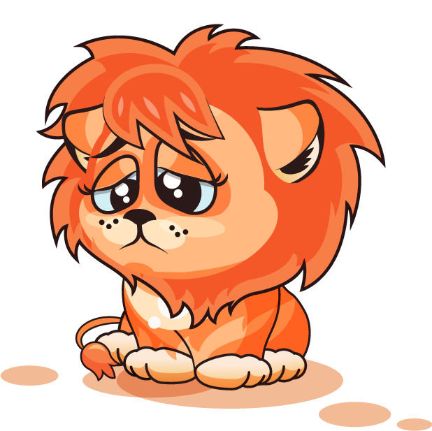 Lion - Stickers for iMessage messages sticker-8