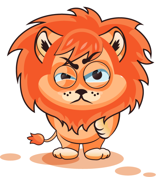 Lion - Stickers for iMessage messages sticker-4