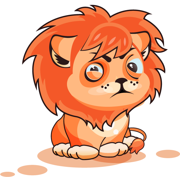 Lion - Stickers for iMessage messages sticker-2