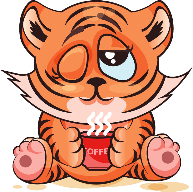 Tiger - Stickers for iMessage messages sticker-8