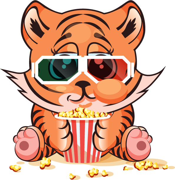 Tiger - Stickers for iMessage messages sticker-9