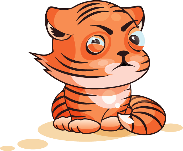 Tiger - Stickers for iMessage messages sticker-2