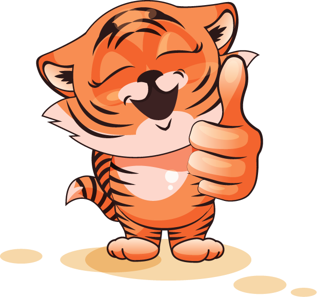 Tiger - Stickers for iMessage messages sticker-1