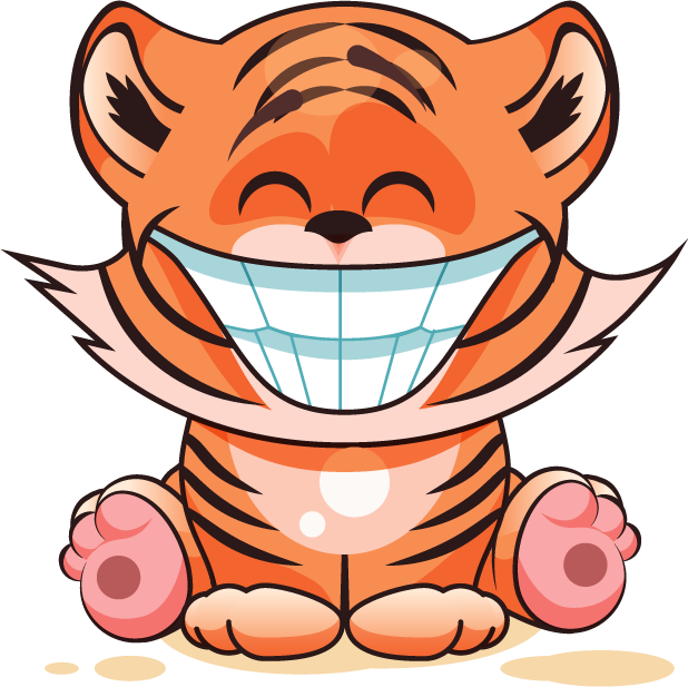 Tiger - Stickers for iMessage messages sticker-7
