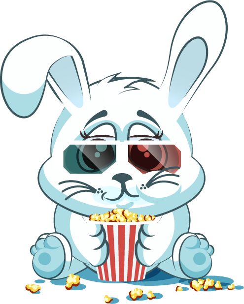 White Leveret - Stickers for iMessage messages sticker-11