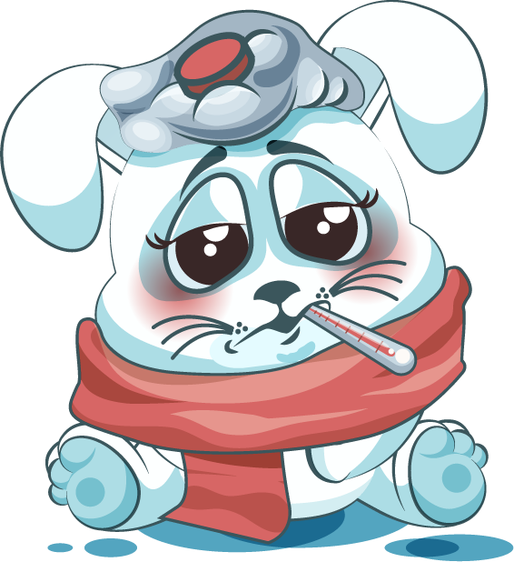 White Leveret - Stickers for iMessage messages sticker-2